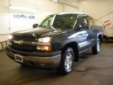 2005 Dark Gray Metallic Chevrolet Silverado 1500 Regular Cab 4x4 #53280199