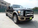2012 Black Ford F250 Super Duty King Ranch Crew Cab 4x4 #53327728