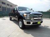 2012 Black Ford F250 Super Duty XLT Crew Cab 4x4 #53327729