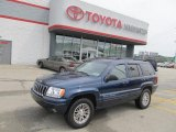 2002 Patriot Blue Pearlcoat Jeep Grand Cherokee Limited 4x4 #53327621