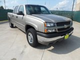 2003 Light Pewter Metallic Chevrolet Silverado 1500 LS Crew Cab #53327736