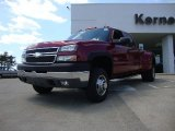 2005 Sport Red Metallic Chevrolet Silverado 3500 LT Crew Cab 4x4 Dually #53327886