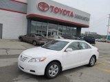 2008 Super White Toyota Camry CE #53327626