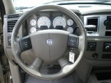 2008 Dodge Ram 1500 Big Horn Edition Quad Cab 4x4 Steering Wheel