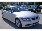 2007 Titanium Silver Metallic BMW 3 Series 328i Sedan #5325068