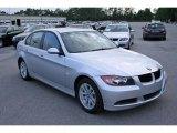 2007 Titanium Silver Metallic BMW 3 Series 328i Sedan #5325078