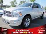 2011 Bright Silver Metallic Dodge Ram 1500 Big Horn Crew Cab 4x4 #53327651