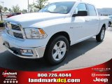 2011 Bright White Dodge Ram 1500 SLT Crew Cab 4x4 #53327653