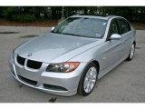 2007 Titanium Silver Metallic BMW 3 Series 328i Sedan #5325049