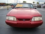 1993 Ford Mustang Electric Red Metallic