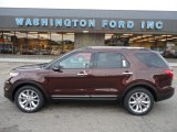 2012 Cinnamon Metallic Ford Explorer Limited 4WD #53327789