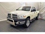 2007 Bright White Dodge Ram 1500 SLT Quad Cab 4x4 #53327553