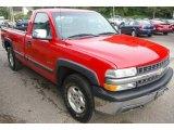 2002 Chevrolet Silverado 1500 Victory Red