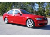 2008 Crimson Red BMW 3 Series 335i Sedan #5325003