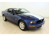 2009 Vista Blue Metallic Ford Mustang V6 Coupe #53327931
