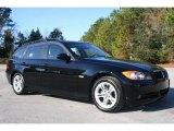2008 Jet Black BMW 3 Series 328i Wagon #5325007