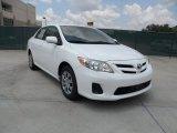 2011 Super White Toyota Corolla LE #53327711