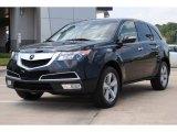 2011 Crystal Black Pearl Acura MDX Technology #53327812