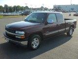 2000 Dark Carmine Red Metallic Chevrolet Silverado 1500 LT Extended Cab #53327952