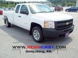 2009 Summit White Chevrolet Silverado 1500 Extended Cab #53327841