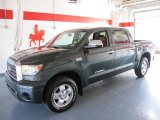 2008 Timberland Green Mica Toyota Tundra Limited CrewMax #53364240