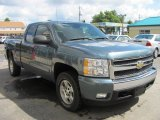 2007 Chevrolet Silverado 1500 Blue Granite Metallic