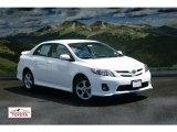 2011 Super White Toyota Corolla S #53364250