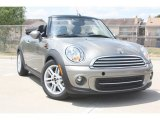 2012 Velvet Silver Metallic Mini Cooper Convertible #53364545