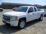 2011 Summit White Chevrolet Silverado 1500 LT Extended Cab 4x4 #53364718