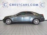 2009 Thunder Gray ChromaFlair Cadillac CTS Sedan #53364575