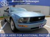 2006 Windveil Blue Metallic Ford Mustang V6 Premium Coupe #53328060