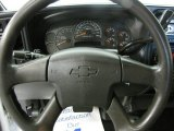 2006 Chevrolet Silverado 1500 Work Truck Extended Cab 4x4 Steering Wheel