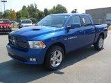 2011 Deep Water Blue Pearl Dodge Ram 1500 Sport Crew Cab 4x4 #53364737