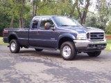 2004 Medium Wedgewood Blue Metallic Ford F250 Super Duty FX4 SuperCab 4x4 #53364442