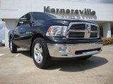 2009 Brilliant Black Crystal Pearl Dodge Ram 1500 Big Horn Edition Crew Cab 4x4 #53364601