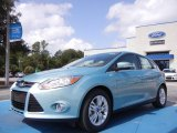2012 Frosted Glass Metallic Ford Focus SEL 5-Door #53364361