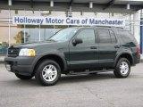 2003 Aspen Green Metallic Ford Explorer XLS 4x4 #53364447