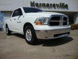 2011 Bright White Dodge Ram 1500 SLT Quad Cab #53364609