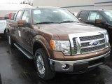 2011 Golden Bronze Metallic Ford F150 Lariat SuperCrew 4x4 #53364464