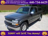 2002 Medium Charcoal Gray Metallic Chevrolet Silverado 1500 LS Extended Cab 4x4 #53364202