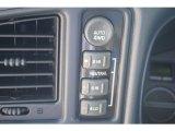 2002 Chevrolet Silverado 1500 LS Extended Cab 4x4 Controls