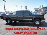 2003 Black Chevrolet Silverado 2500HD LT Crew Cab 4x4 #53364803