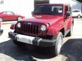 2012 Deep Cherry Red Crystal Pearl Jeep Wrangler Sahara 4x4 #53364628