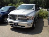 2012 Bright Silver Metallic Dodge Ram 1500 SLT Quad Cab 4x4 #53364629
