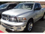 2011 Bright Silver Metallic Dodge Ram 1500 SLT Quad Cab 4x4 #53364642