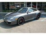 2012 Meteor Grey Metallic Porsche 911 Carrera GTS Coupe #53364510