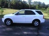 2009 Clear White Kia Sorento LX #53410149