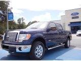 2011 Dark Blue Pearl Metallic Ford F150 XLT SuperCrew 4x4 #53409642