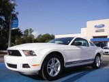 2011 Performance White Ford Mustang V6 Premium Coupe #53409649