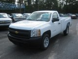 2011 Summit White Chevrolet Silverado 1500 Regular Cab #53410409